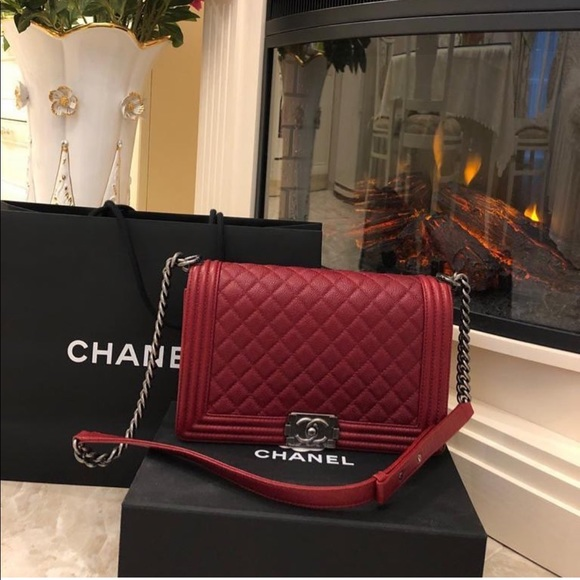 74122f847faa CHANEL Bags | Medium Caviar Leather Bag | Poshmark